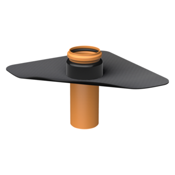 Prestup parozábranou XL s integrovanou manžetou na zákazku
