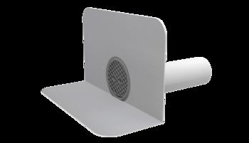 Chrlič guľatý s integrovanou PVC manžetou