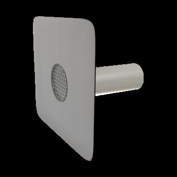 Poistný prepad guľatý s integrovanou PVC manžetou
