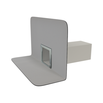 Chrlič hranatý s integrovanou PVC manžetou
