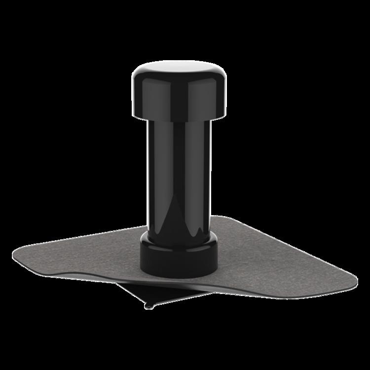 Odvetrávací komínok s integrovanou bitúmenovou manžetou