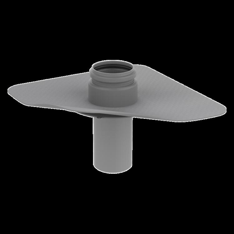 Prestup parozábranou s integrovanou PVC manžetou