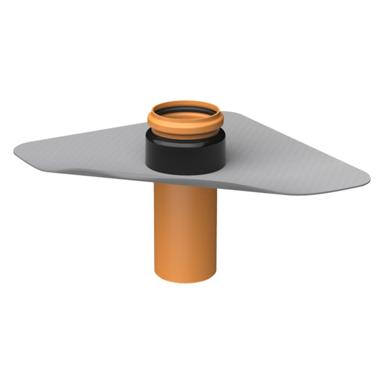 Prestup parozábranou XL s integrovanou PVC manžetou