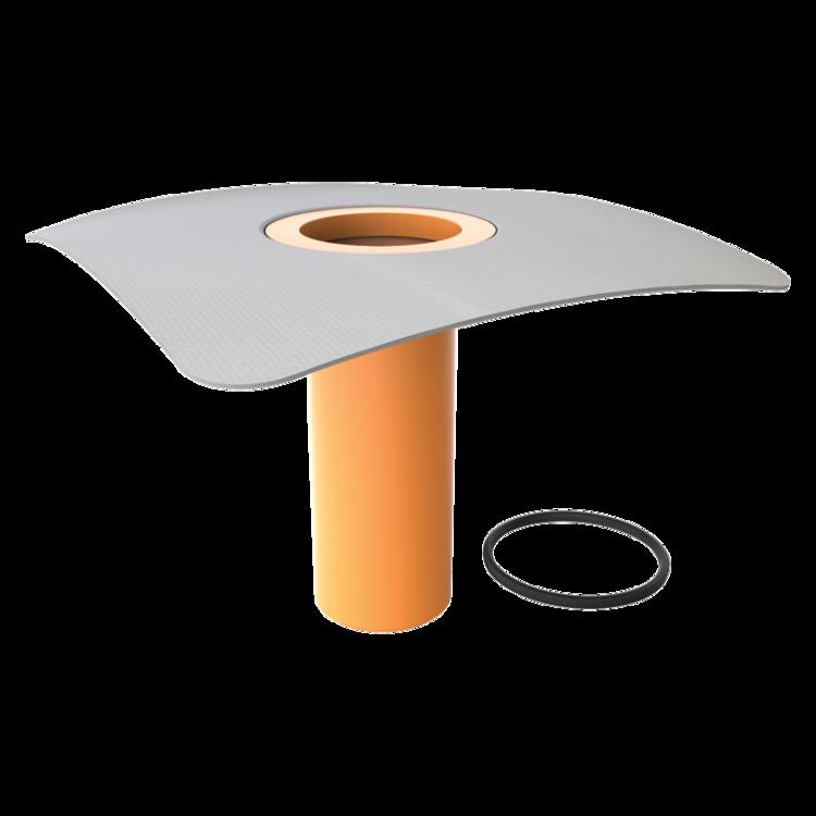 Nadstavec strešného vpustu s integrovanou PVC manžetou