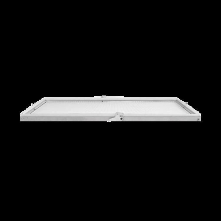 Stropný difuzér pre strop s podhľadom
